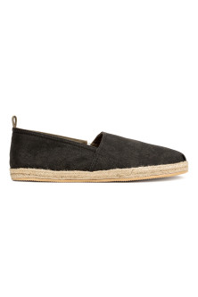 Cotton canvas espadrilles
